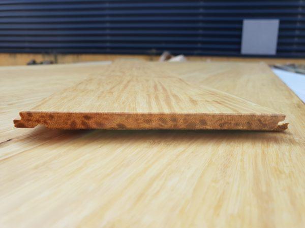 parquet bambou densifié à clipser