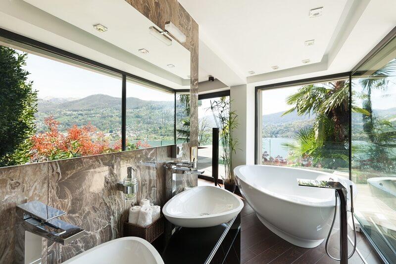 parquet bambou pour salle de bain